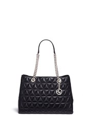 Michael Kors 'Scarlett' Large Quilted Leather Tote Black