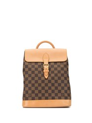 Louis Vuitton 1996 Pre Owned Soho Backpack Brown