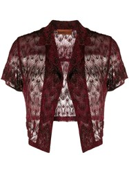 Missoni Mare Sheer Cropped Over Shirt 60