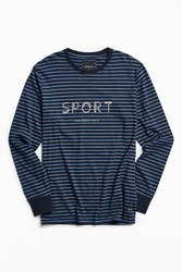 Barney Cools Sport Long Sleeve Tee Navy