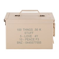 Diesel Living With Seletti Peace Bullet Storage Box