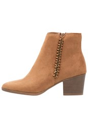 Dorothy Perkins Macy Ankle Boots Brown Tan