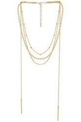 8 Other Reasons Amber Lariat Metallic Gold
