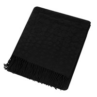 Roberto Cavalli Jerapah Throw 130X170cm Black