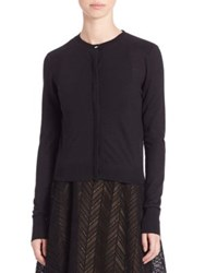 Jason Wu Lace Back Cardigan Black