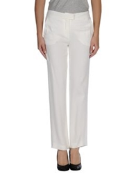 Fendi Dress Pants White