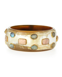 Ashley Pittman Kuwasha Light Horn Bangle