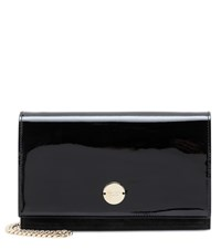 Jimmy Choo Florence Patent Leather Clutch Black