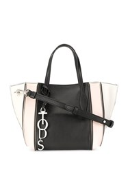 Tod's Small Colour Block Tote Black