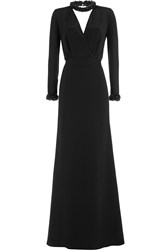 Emilio Pucci Jewel Embellished Evening Gown Black