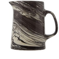 Hay Marbled Jug Black