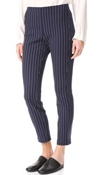 Rag And Bone Simone Pinstripe Pants Salute White