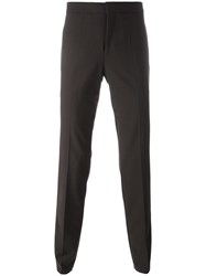 Neil Barrett Side Stripe Trousers Brown