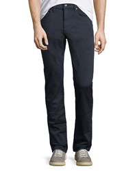 Joe's Jeans French Terry Slim Straight Pants Blue