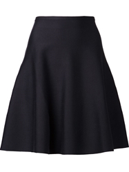 Maison Ullens Flared Skirt Blue