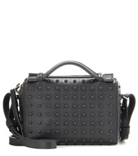Tod's Micro Leather Shoulder Bag Black