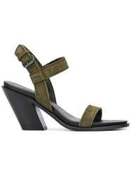 A.F.Vandevorst Ankle Strap Sandals Green