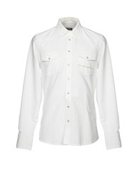 Care Label Shirts White