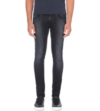 Tiger Of Sweden Jimmy Faded Slim Fit Skinny Jeans Black