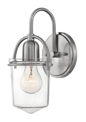 Hinkley Clancy Wall Sconce Silver