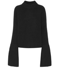 Jil Sander Wool And Cashmere Sweater Black