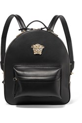 Versace Palazzo Medium Leather Backpack Black