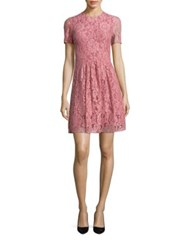 Burberry Christy Lace Dress Antique Rose