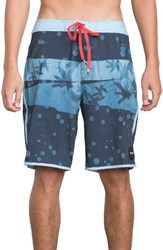 Rvca Men's Chopped Board Shorts Cosmos