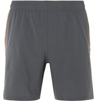 Under Armour Launch 2 In 1 Shell Shorts Gray