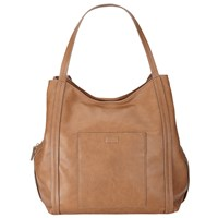 John Lewis Tia Shoulder Bag Tan