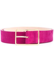 B Low The Belt Squared Buckle Pink