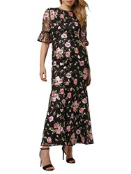 Phase Eight Collection 8 Antonette Floral Dress Black