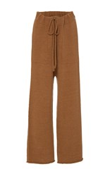 Lauren Manoogian Straight Lounge Pant Brown