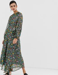 Essentiel Antwerp Sharkeisha Maxi Dress Multi