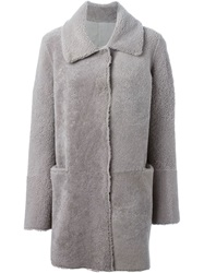 Sylvie Schimmel Reversible Coat Grey