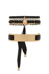 Samantha Wills Hand Over Love Bracelet Set Metallic Gold