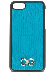 Dolce And Gabbana Logo Iphone 7 Case Blue