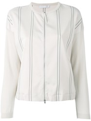 Fabiana Filippi Lightweight Jacket Nude Neutrals