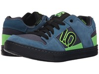 Five Ten Freerider Blanch Blue Solar Green Men's Skate Shoes
