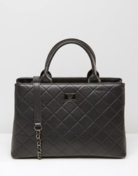 Marc B Quilted Grab Bag Black