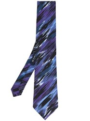 Etro Abstract Print Tie Men Silk One Size