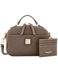 Dooney And Bourke Ambler Small Crossbody Taupe