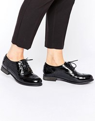 London Rebel Barnaby Lace Up Shoes Black Patent