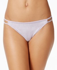 Vanity Fair Illumination Heathered Cotton Bikini 18315 Petal Heather