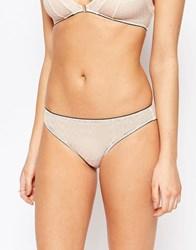 Lepel London Chelsea Brief Nude And Black Beige
