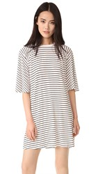 The Fifth Label Hamilton Dress Black White Stripe