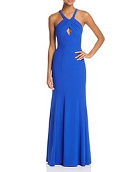 Decode 1.8 Keyhole Gown Royal