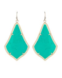 Alexandra Earrings Teal Kendra Scott Blue