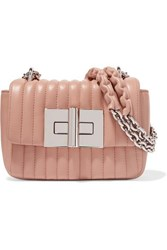 Tom Ford Natalia Mini Quilted Leather Shoulder Bag Blush