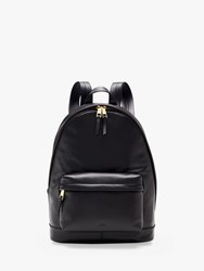 J.Crew Leather Backpack Black